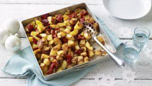 Potato and pepper bake