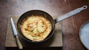Egg tortilla pie