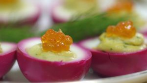 Russian Devilled Eggs