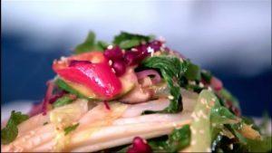 Stir-fried salad