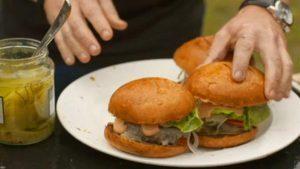 Heston Blumenthal's beef burgers