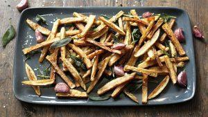 Tagliata for two & Tuscan fries