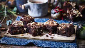 Chocolate hazelnut spread brownies