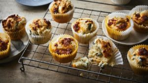 Mary Berry's cheesy muffins