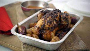 Piri-piri roast chicken