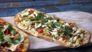 Pizza expressed three ways