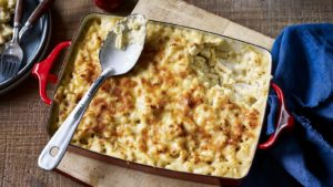 Smoky macaroni cheese