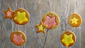 Mary Berry's stained glass window biscuits