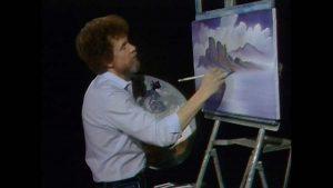 The Joy of Painting episode 2 – Nature's Paradise