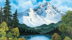 The Joy of Painting episode 4 – Towering Peaks