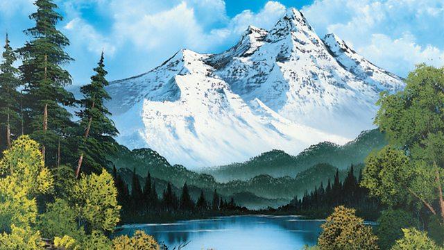 The Joy of Painting episode 4 – Towering Peaks