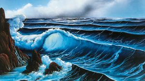 Read more about the article The Joy of Painting episode 5 – Ocean Breeze