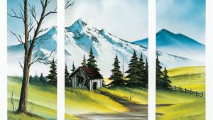 Read more about the article The Joy of Painting episode 8 – Triple View