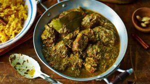 Mutton saag recipe