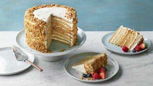 Nadiya's Russian honey cake