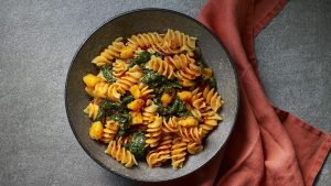 Pasta with cavolo nero and 'nduja