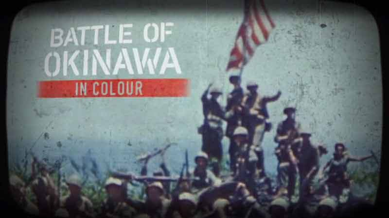 Battle of Okinawa in Color