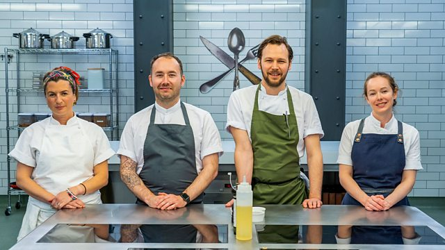 Read more about the article Great British Menu 2021 episode 4  – Scotland Starter and Fish