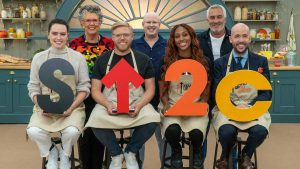 Read more about the article The Great Celebrity Bake Off for SU2C episode 1