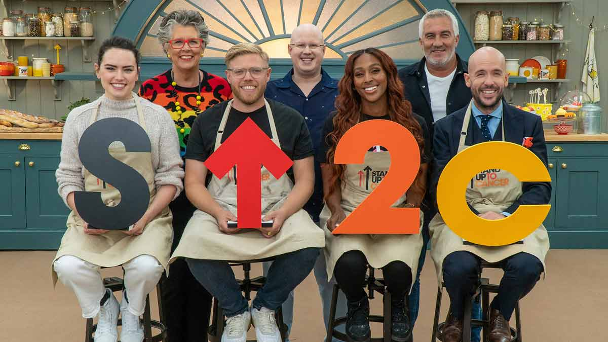 The Great Celebrity Bake Off for SU2C episode 1