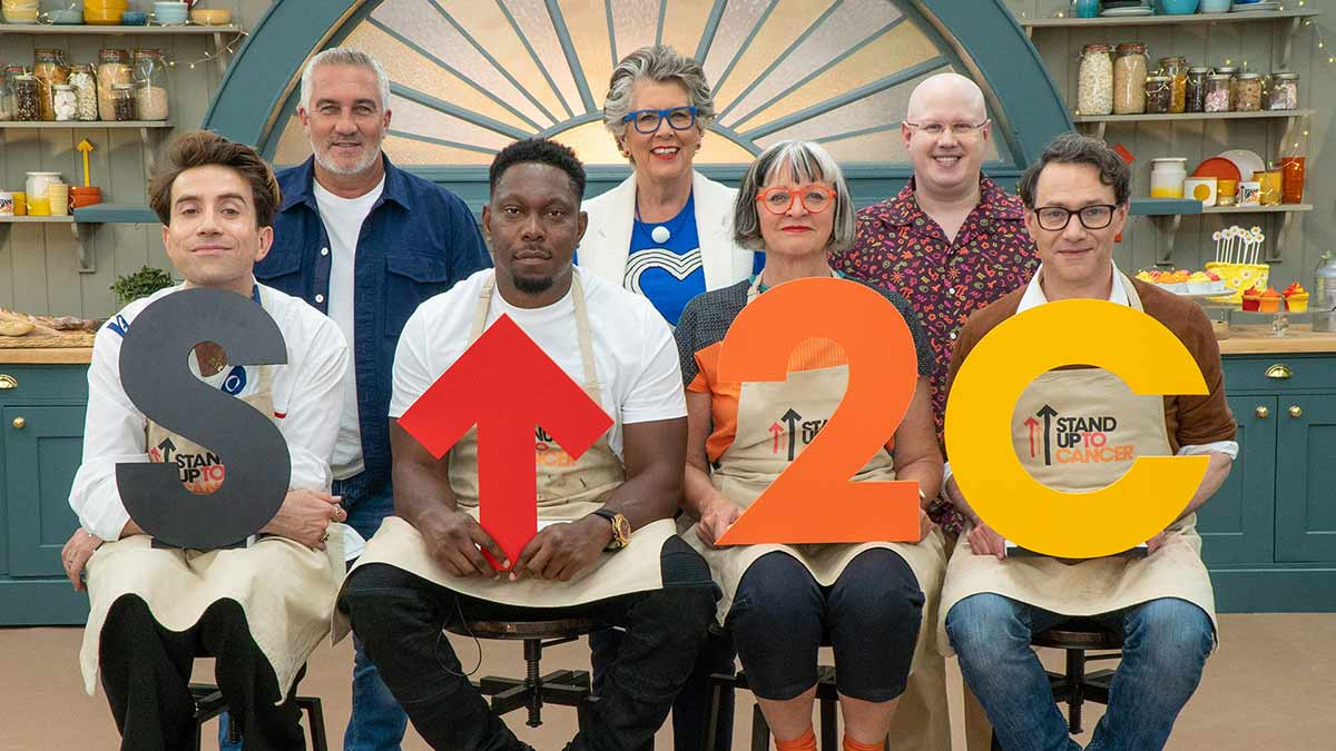 The Great Celebrity Bake Off for SU2C episode 3