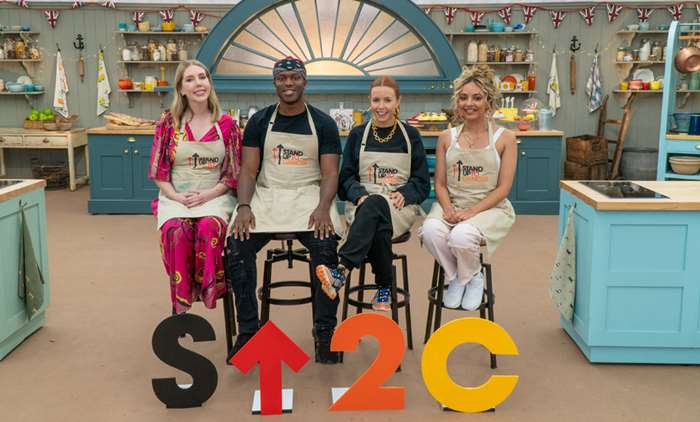 The Great Celebrity Bake Off for SU2C episode 4