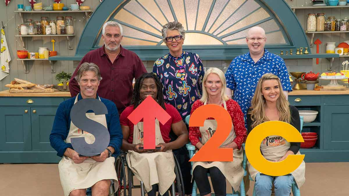 The Great Celebrity Bake Off for SU2C episode 5